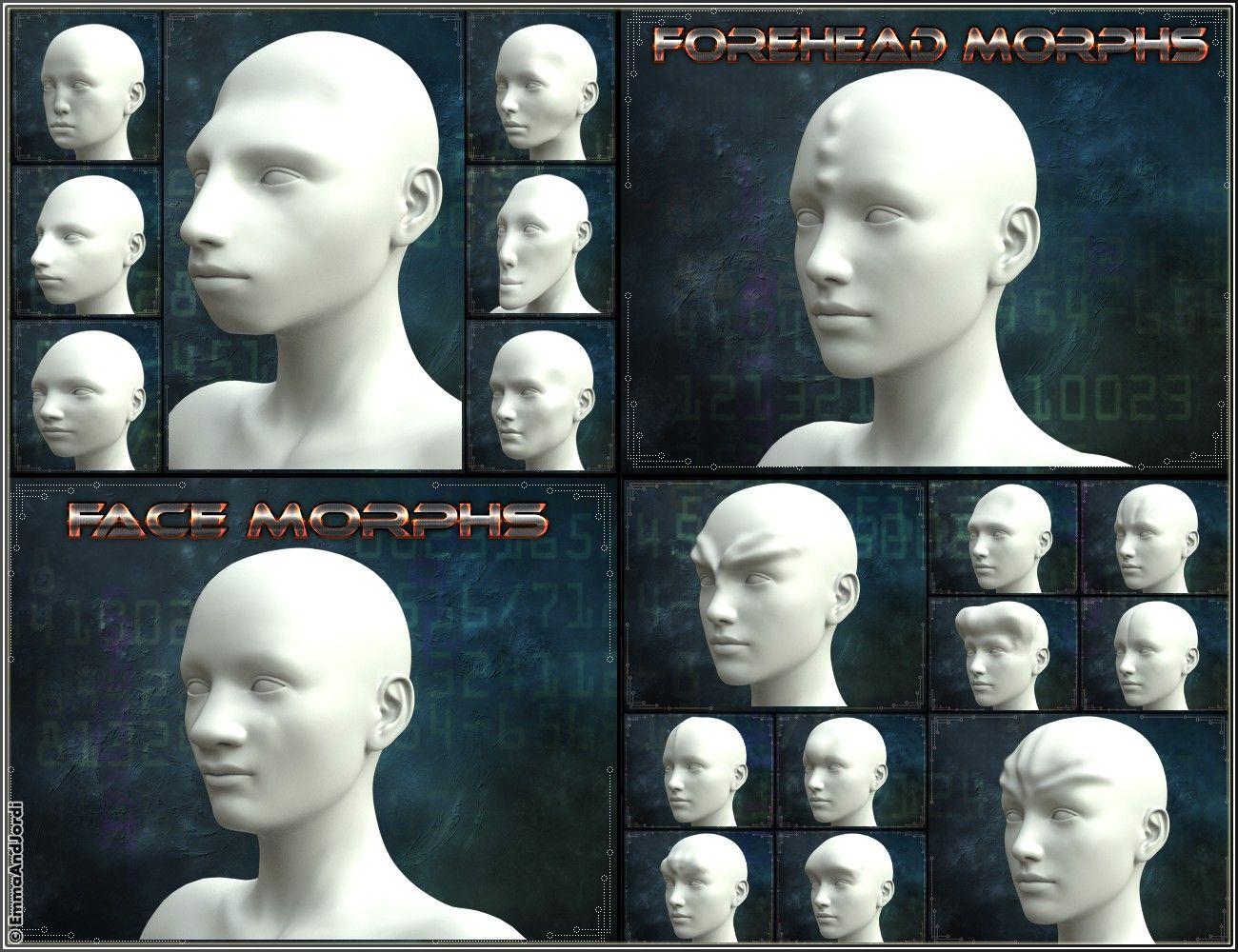 EJ Alien Creator Morphs for Genesis 8 Female(s)   3D Models