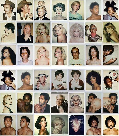 Polaroids by Andy Warhol