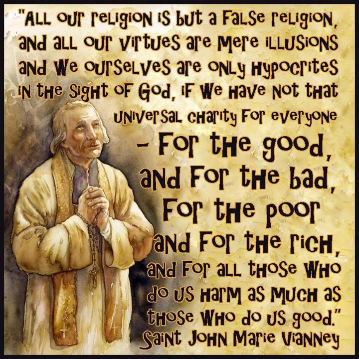 Catholic Quote Of The Day: Happy Feast Day Of St. John Vianney!