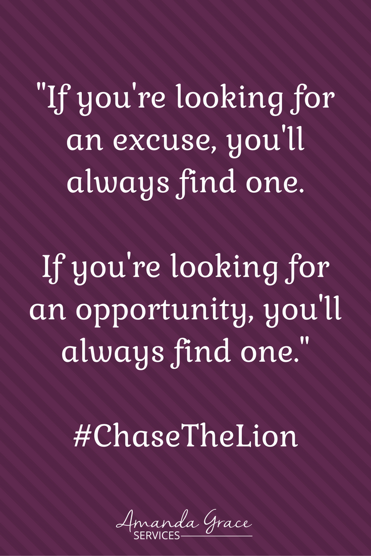Books for Entrepreneurs. Chase the Lion is full of inspiration. A great Self-Help book for all aspiring Virtual Assistants