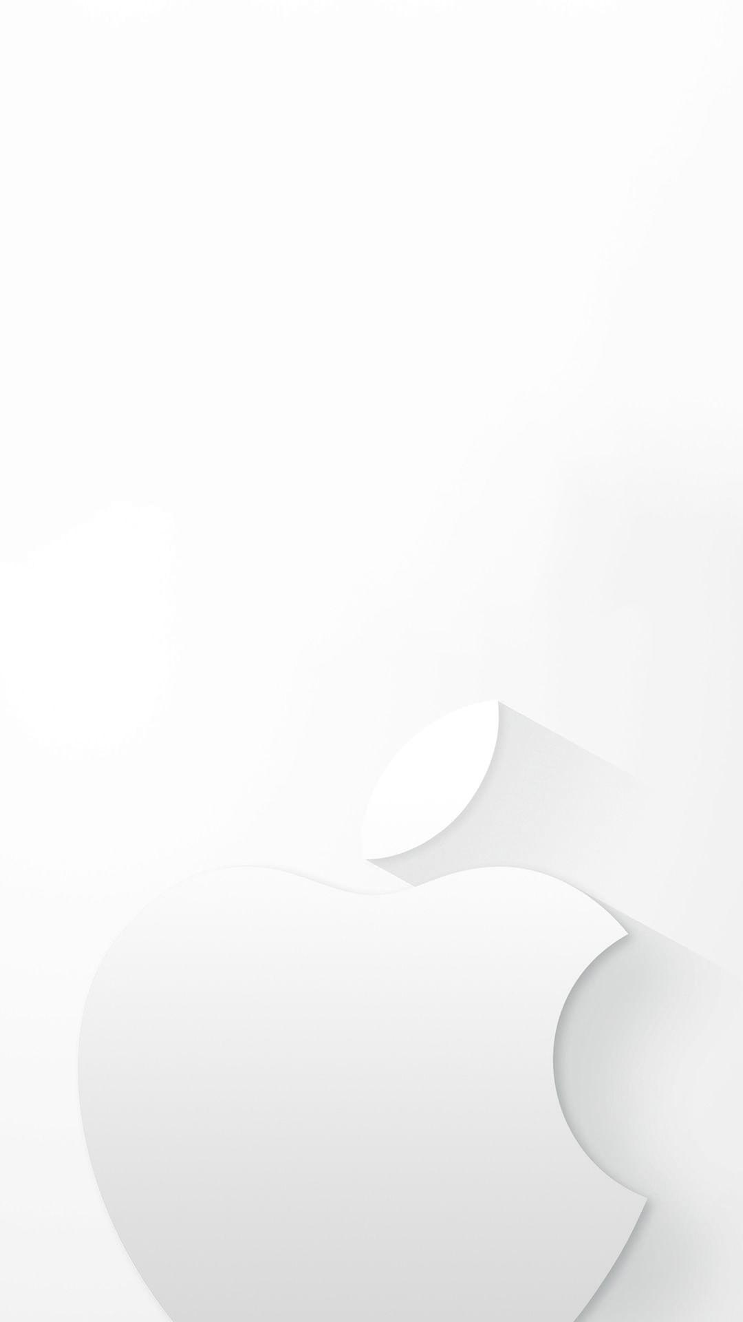 ホワイトiphone6s壁紙 Iphone6 壁紙 壁紙 アップルロゴ