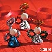 Hershey's Kisses Angels Craft Idea