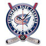 Columbus Blue Jackets High Definition Clock
