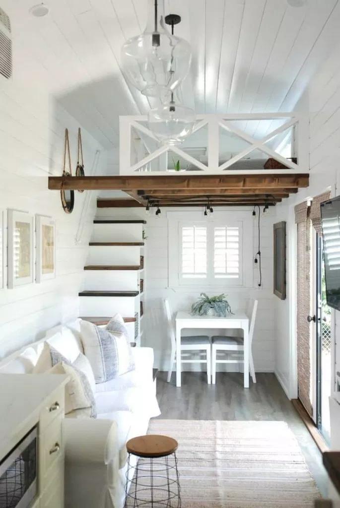 √79 Awesome Tiny House Interior Ideas |