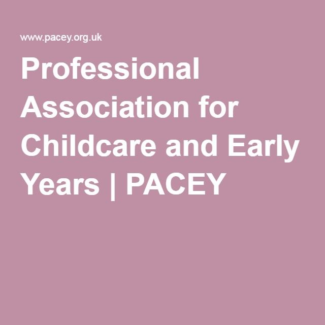 Professional Association for Childcare and Early Years   PACEY