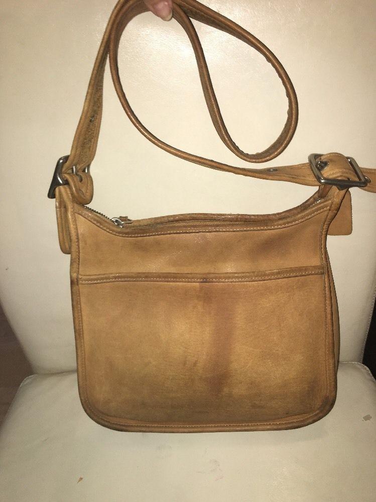 Vintage Tan Leather