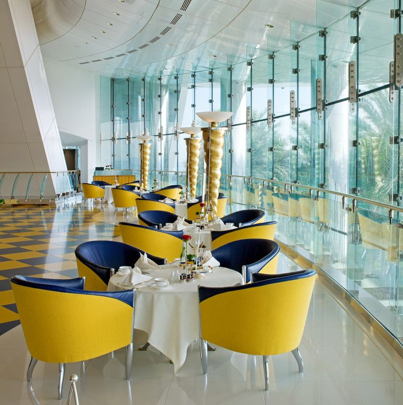 Burj Al Arab Jumeirah Sahn Eddar Lobby Lounge With Images