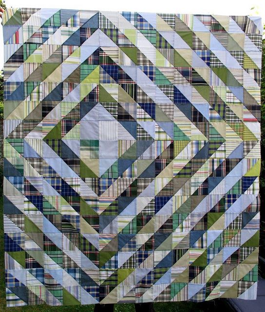 Value quilt top done by Anne@surelynotanotherproject, via Flickr