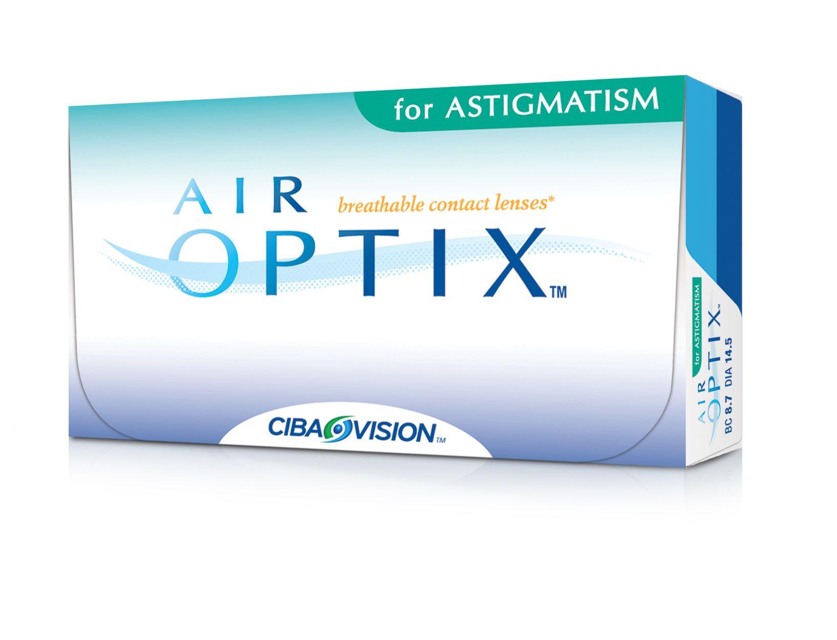Air Optix For Astigmatism Contact Lenses Air Optix Astigmatism