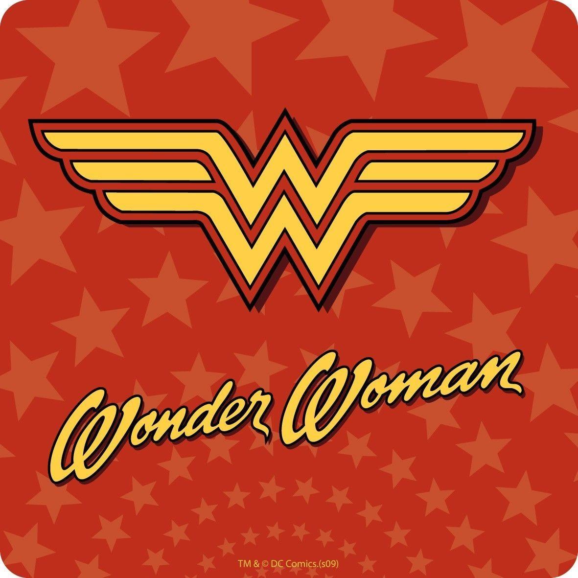 £3.5 GBP Wonder Woman Logo Coaster Vintage Retro Drinks