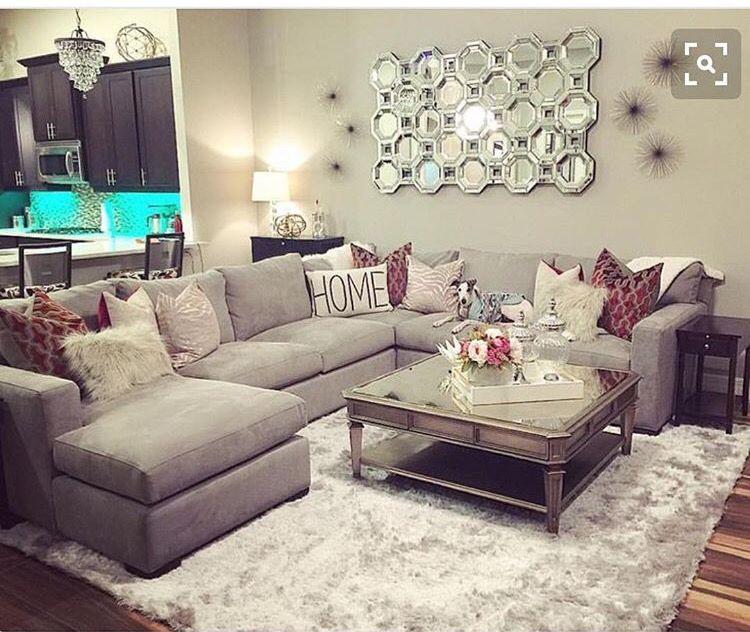 Simple And Bright Living Room Idea Livingroom Idea Decor Sofa