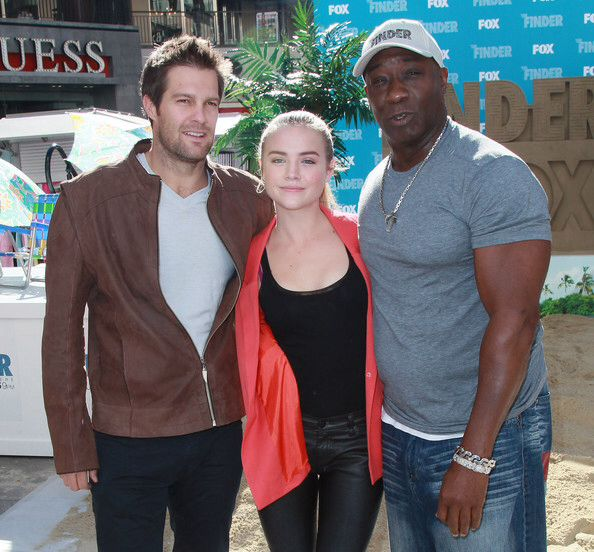 Geoff Stults, Maddie Hasson, and Michael Clarke Duncan,  The Finder cast