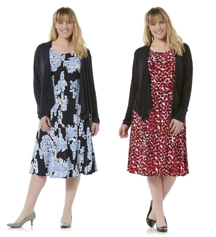 Covington Womens Plus Dress Jacket 2 pieces set polyester spandex size 3X NEW   29.99 http://www.ebay.com/itm/-/332009907429?