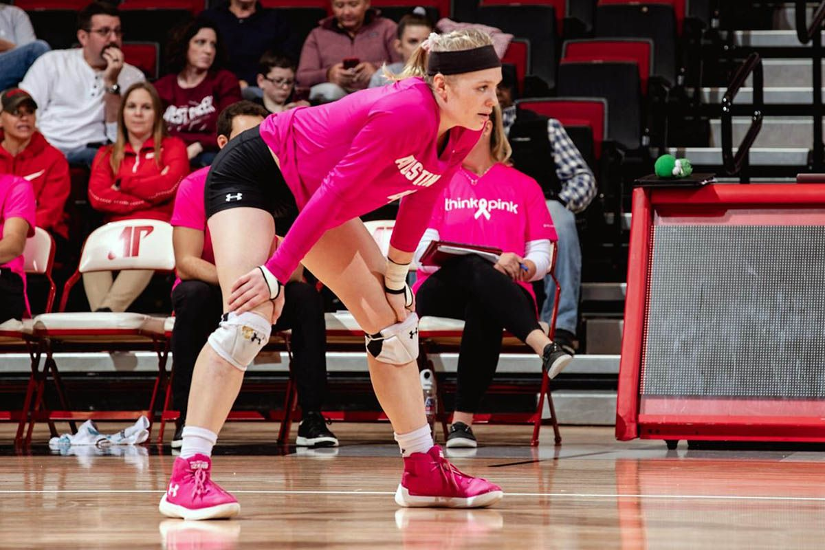 Apsu Volleyball Hits To Road To Face Tennessee Tech Jacksonville State Austin Peay State University Jacksonville State Eastern Illinois