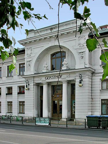 Gersthof Stadtbahn Pavilion 1896 by Otto Wagner