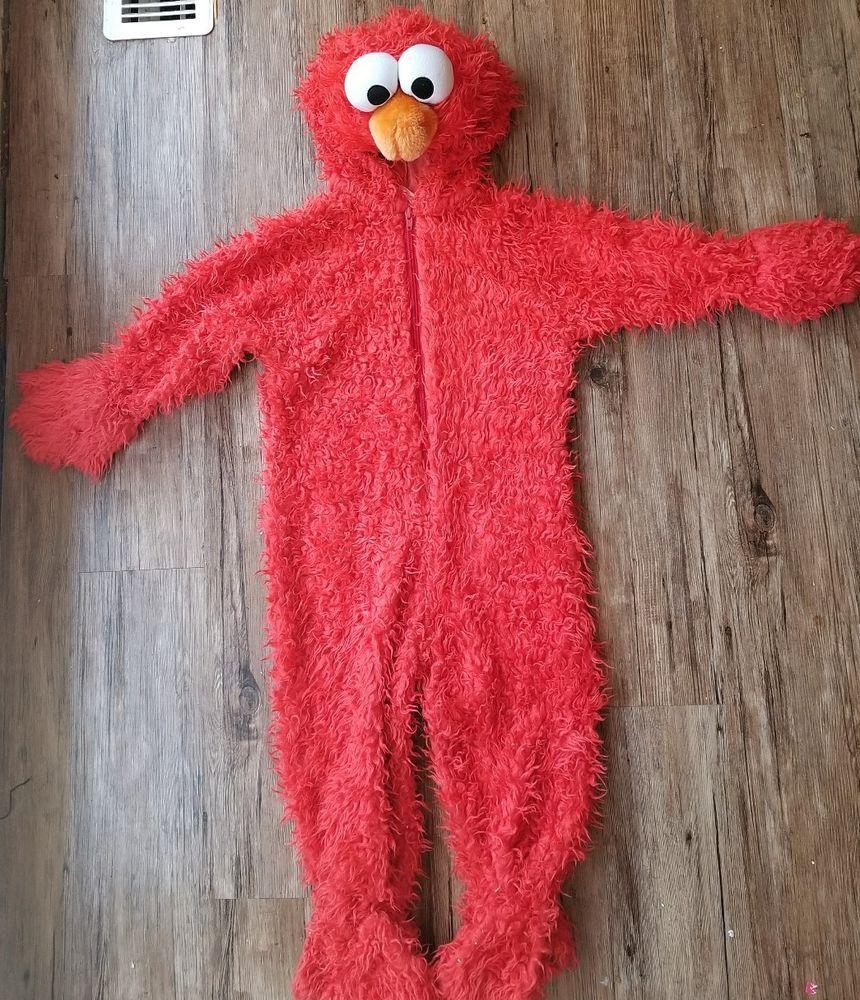 Size 3T-4T Elmo Deluxe Plush