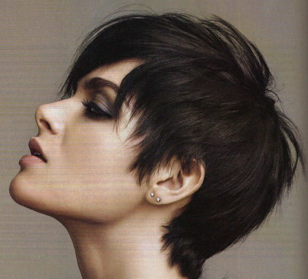 Pixie Haircuts For Thick Hair See All Hairstyles Women With Round Faces And From Cute Easy Best Haircut Style Color