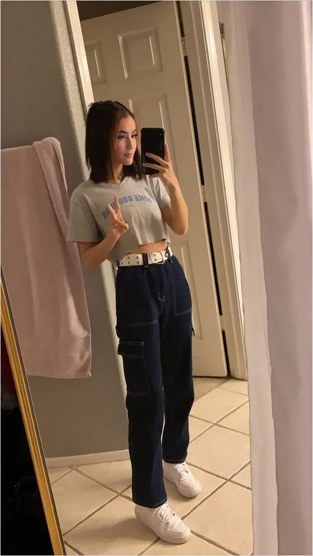 46 Perfect School Outfits For Girls To Wear To School Scholloutfits Campusoutfits Collageoutfits Tr In 2020 Fashion Inspo Outfits Cute Casual Outfits Girl Outfits