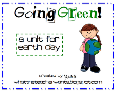 Earth Day unit study - going green