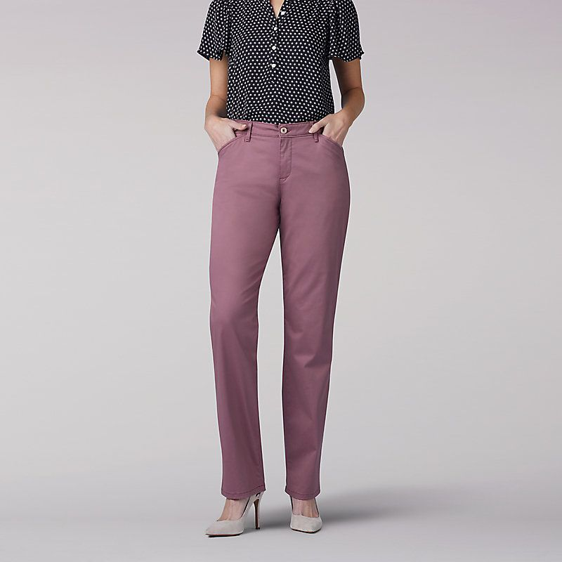 Lee petite straight leg pants, naked brandy and mr whiskers