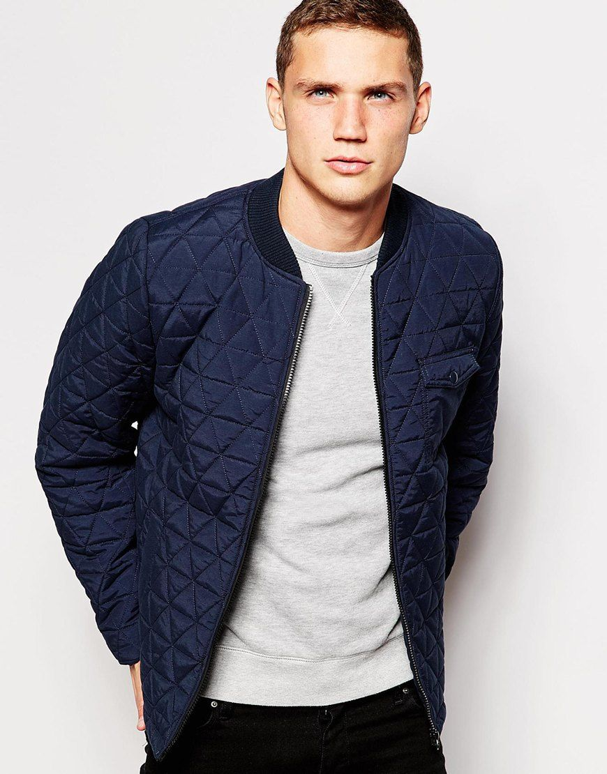 Another+Influence+Quilted+Bomber+Jacket | Men's Fashion | Pinterest : mens quilted bomber jacket - Adamdwight.com