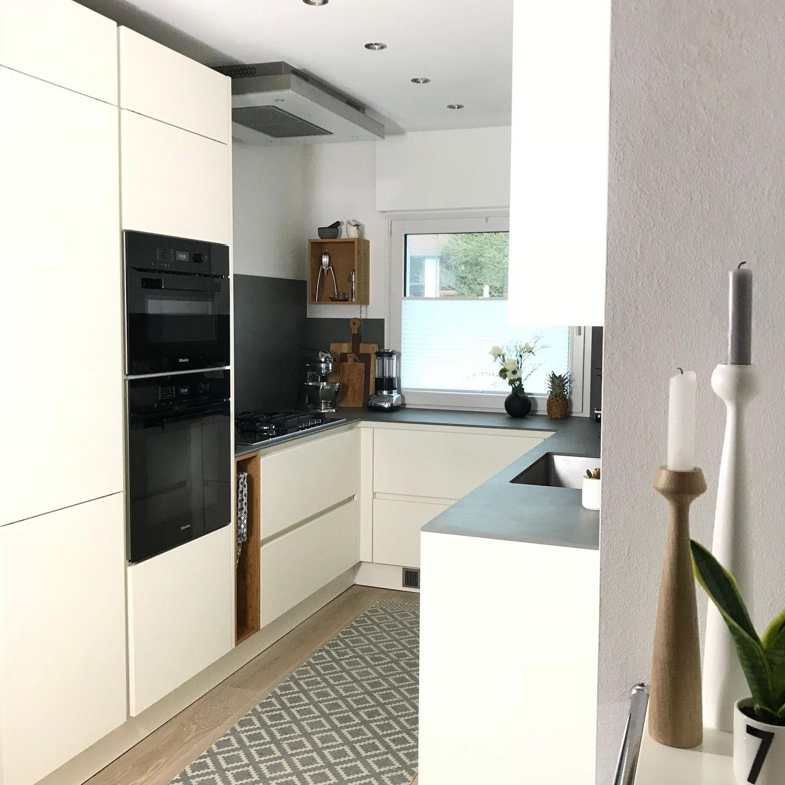 kleineküche küche griffloseküche happyplace Kleine