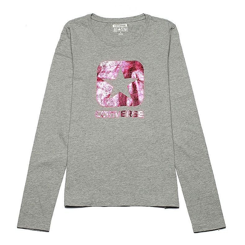 3fecee0ef7b1  converse Authentic new winter women s clothing line long-sleeved T-shirt  09430C035