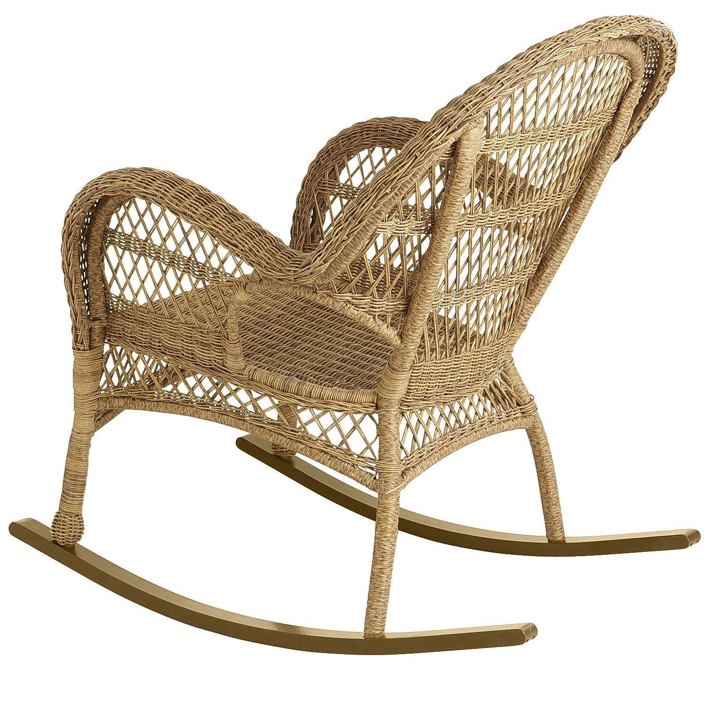 Santa Barbara Light Brown Rocking Chair Mecedora