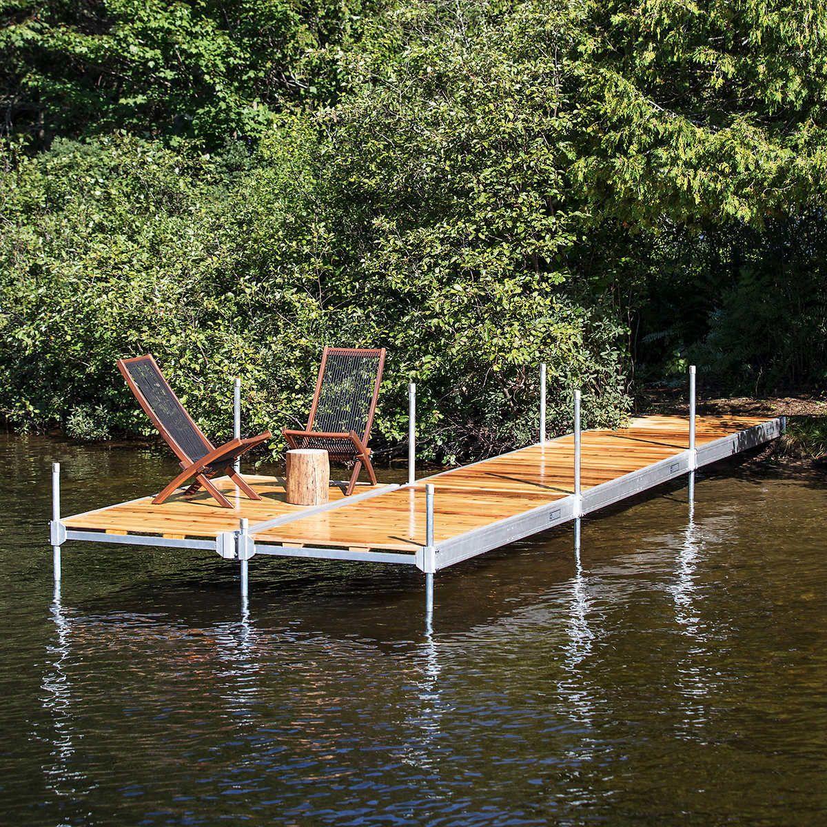 Multinautic 4 ft. x 8 ft. Aluminum Dock Kit Do It