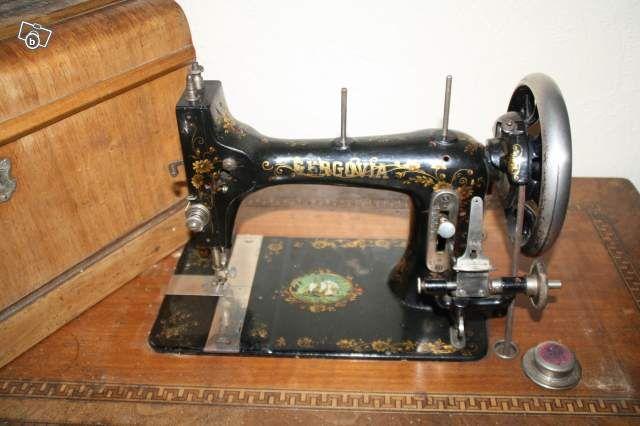 Gergovia machine allemande francisée Original Victoria B Fascinating Original Victoria Sewing Machine