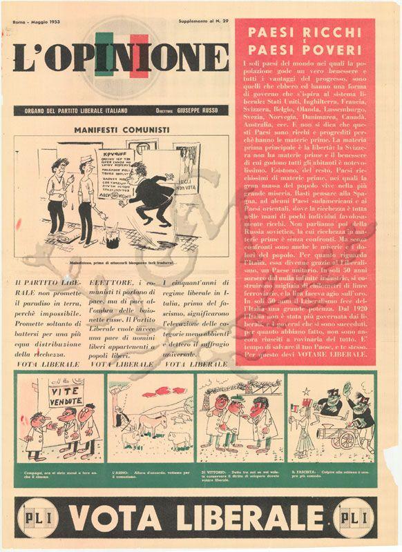 L'Opinione - maggio 1953