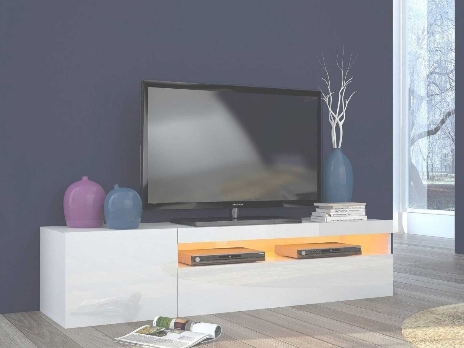Meuble Tv Suspendu Blanc Et Bois Meuble Tv Suspendu Design
