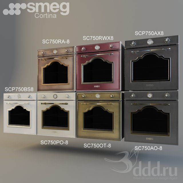 16 Rose Gold And Copper Details For Stylish Interior Decor: Colorway For SMEG Cortina Series Ovens...