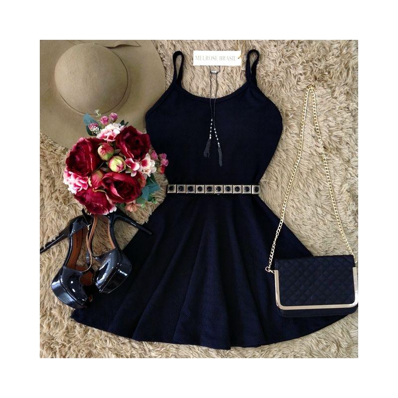 Melrose Orange and Black Dresses