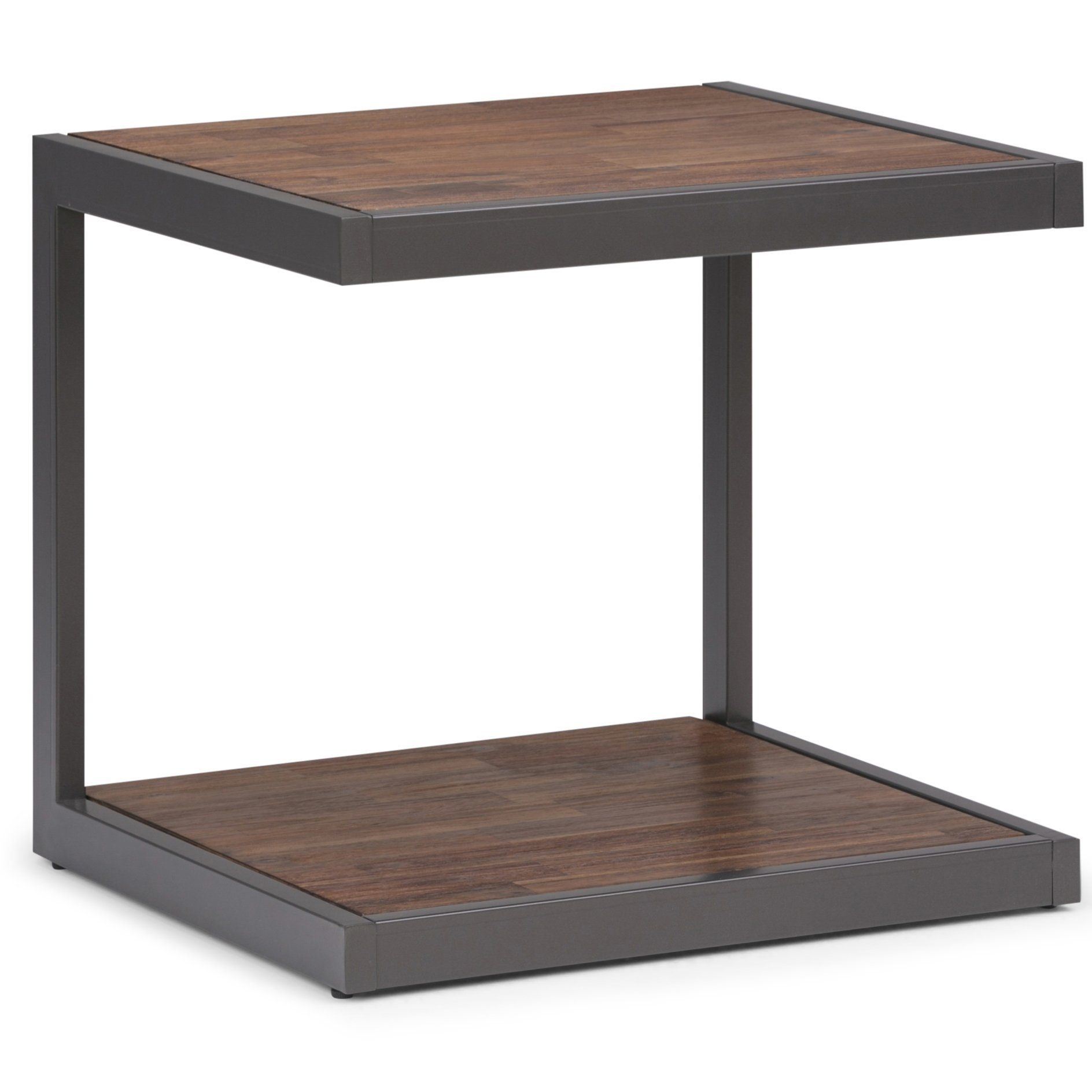 Mygift 24inch Modern Black Metal Square Tray Side Table Read More Reviews Of The Product By Visiting The Link Square Tray Living Room Furniture Side Table
