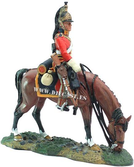 Soldado británico, 1º Regimiento Royal Dragons, 1814, 1:30, Del Prado