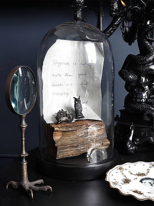Happines is nothing more than good health and a bad memory\ - halloween decorating ideas indoor