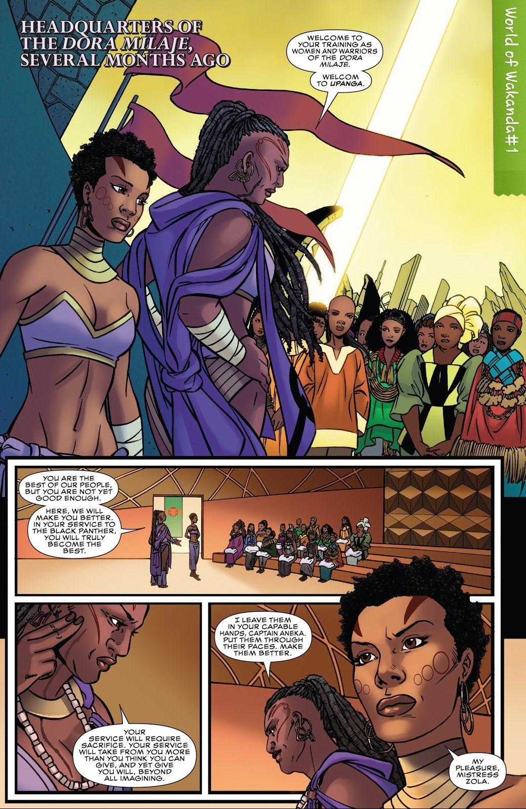 Upanga World Of Wakanda 1