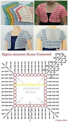 Photo of топы кофты жакеты | Crochet, Crochet baby shawl, Crochet patterns