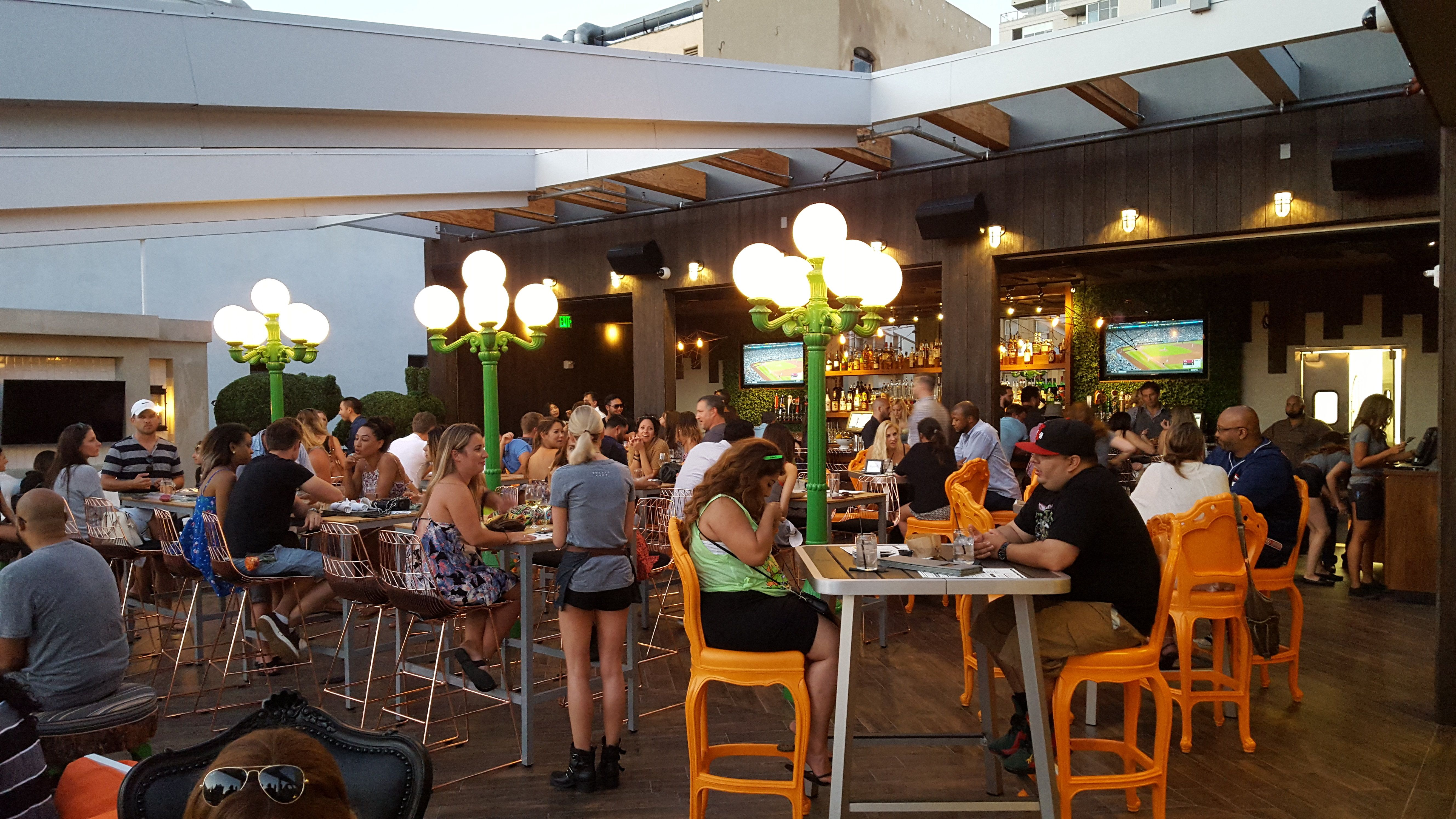 San Diego City Beat   The Patio Power Of Rustic Root