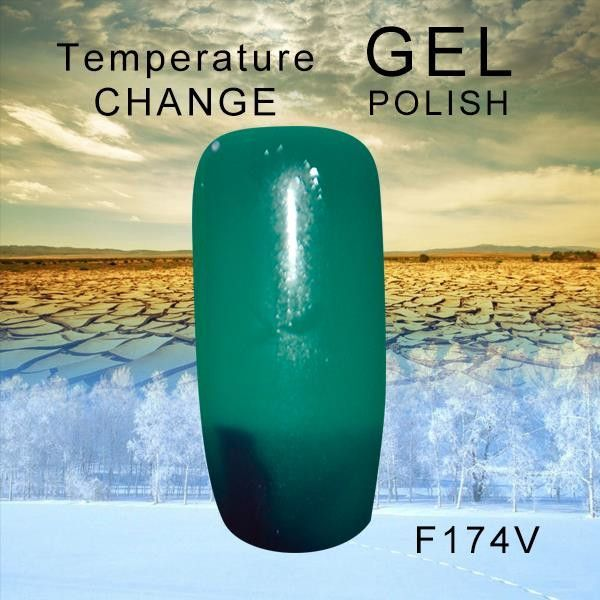 Temperature R.S Multiple colour Thermo Nail Paint Polish Gel