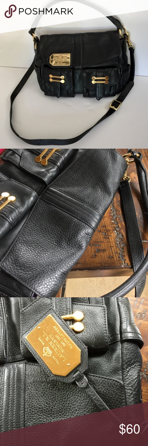 54e8b40dabd Ralph Lauren leather bag   Crossbody bags, Conditioning and Leather