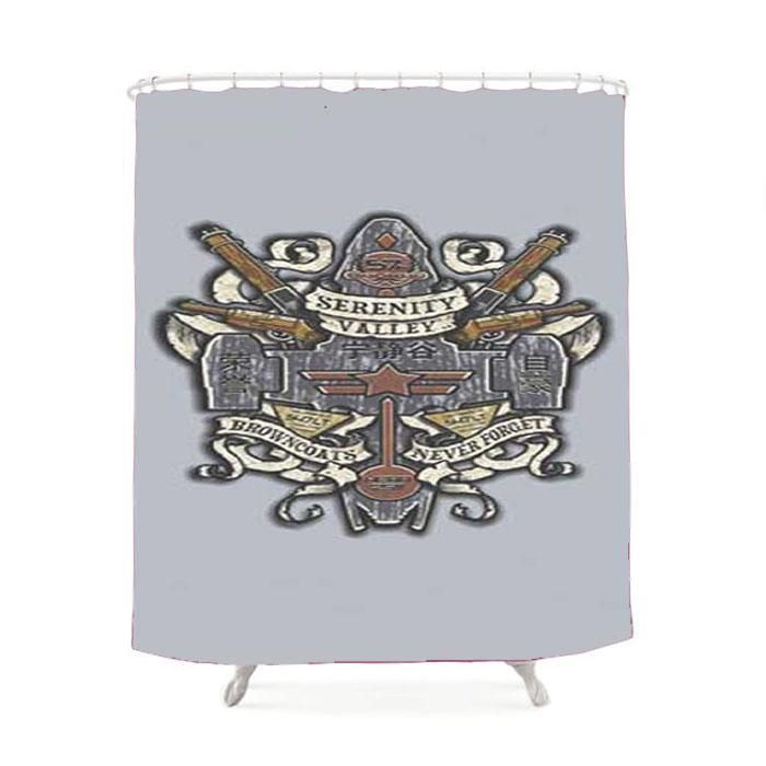 Firefly Serenity Valley Crest Shower Curtain