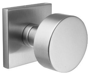 Interior Door Hardware: Emtek C505ROUUS15 Satin Nickel Round Knobset Round  Knob Brass Modern Dummy Door