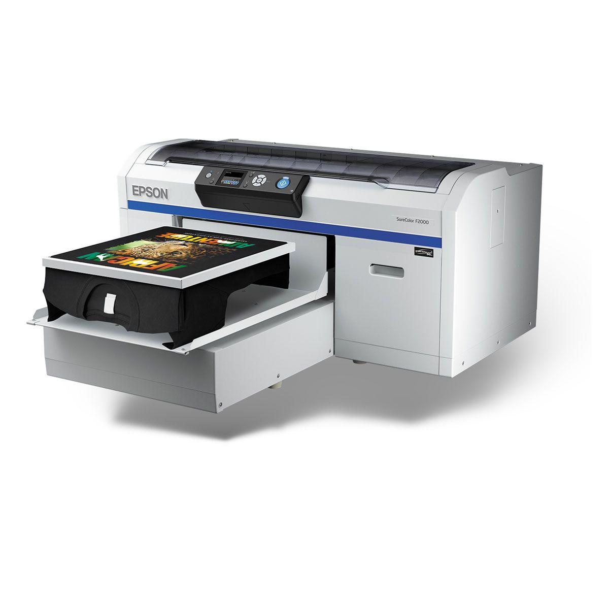 Epson Surecolor F2100 Dtg Printer White Edition Printer Epson Tshirt Business