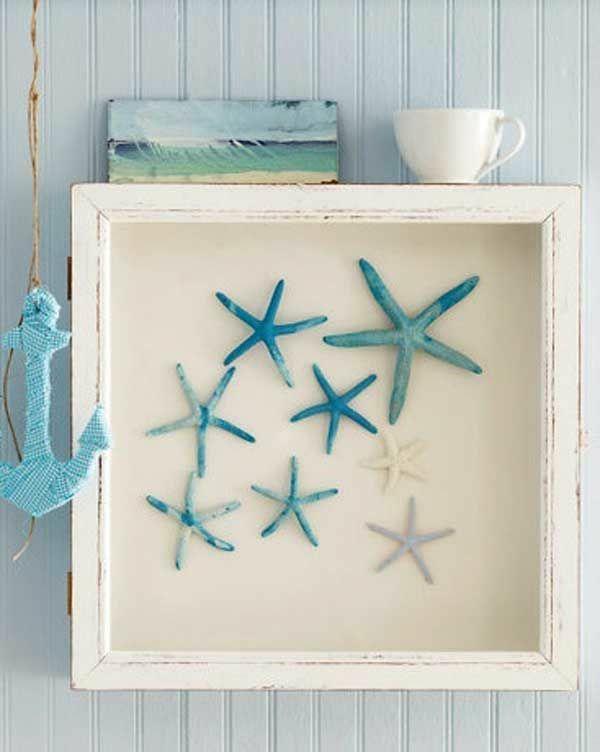 maritime wanddeko ideen in blau maritim Pinterest Wanddeko - badezimmer deko türkis