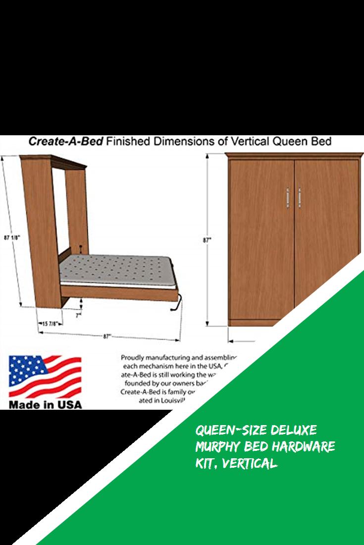 Queen Size Deluxe Murphy Bed Hardware Kit Vertical Design