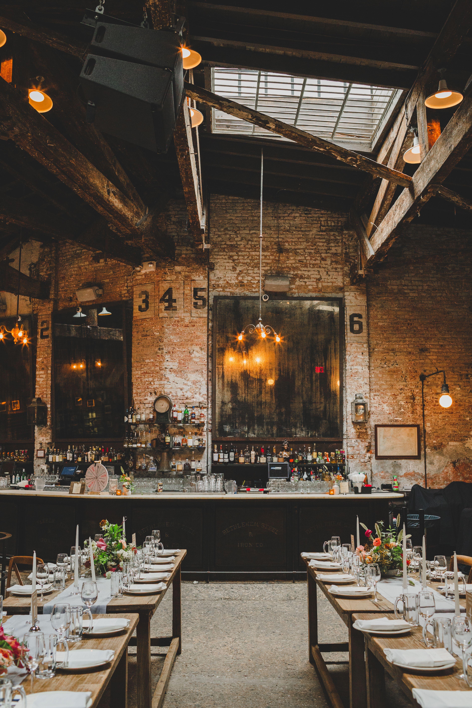 Beer Hall Weddings Nontraditional Venues in New York