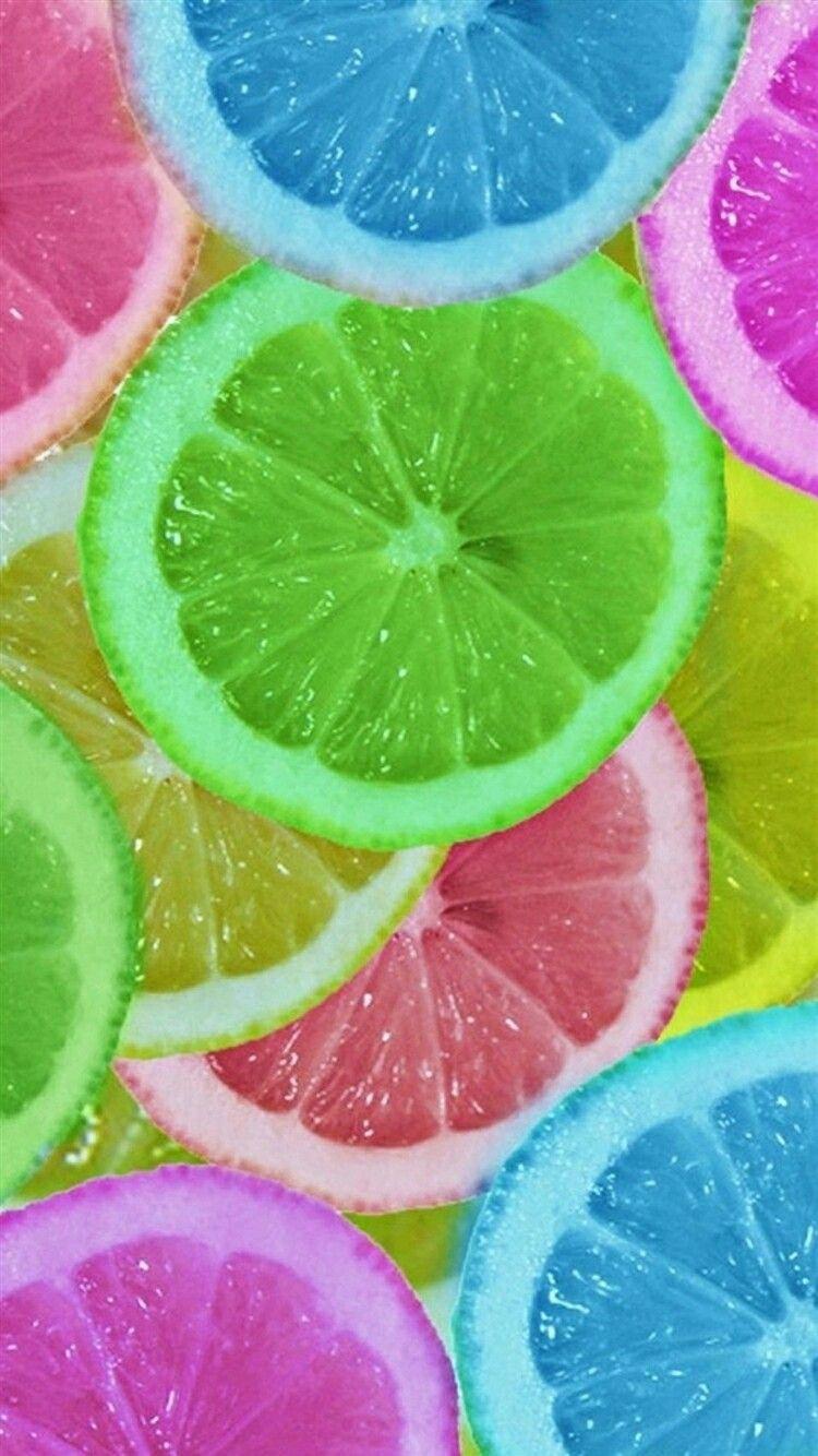 Limones coloridos | Colorful lemons - #fruta #fruit #fondos ...