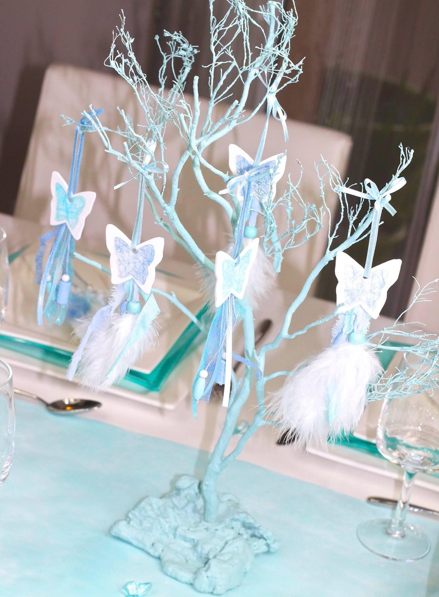 Decoration De Table Papillon Bleu Loulou Box 10 Personnes Http Www